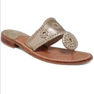 JACK ROGERS Hamptons Whipstitch Thong Sandal